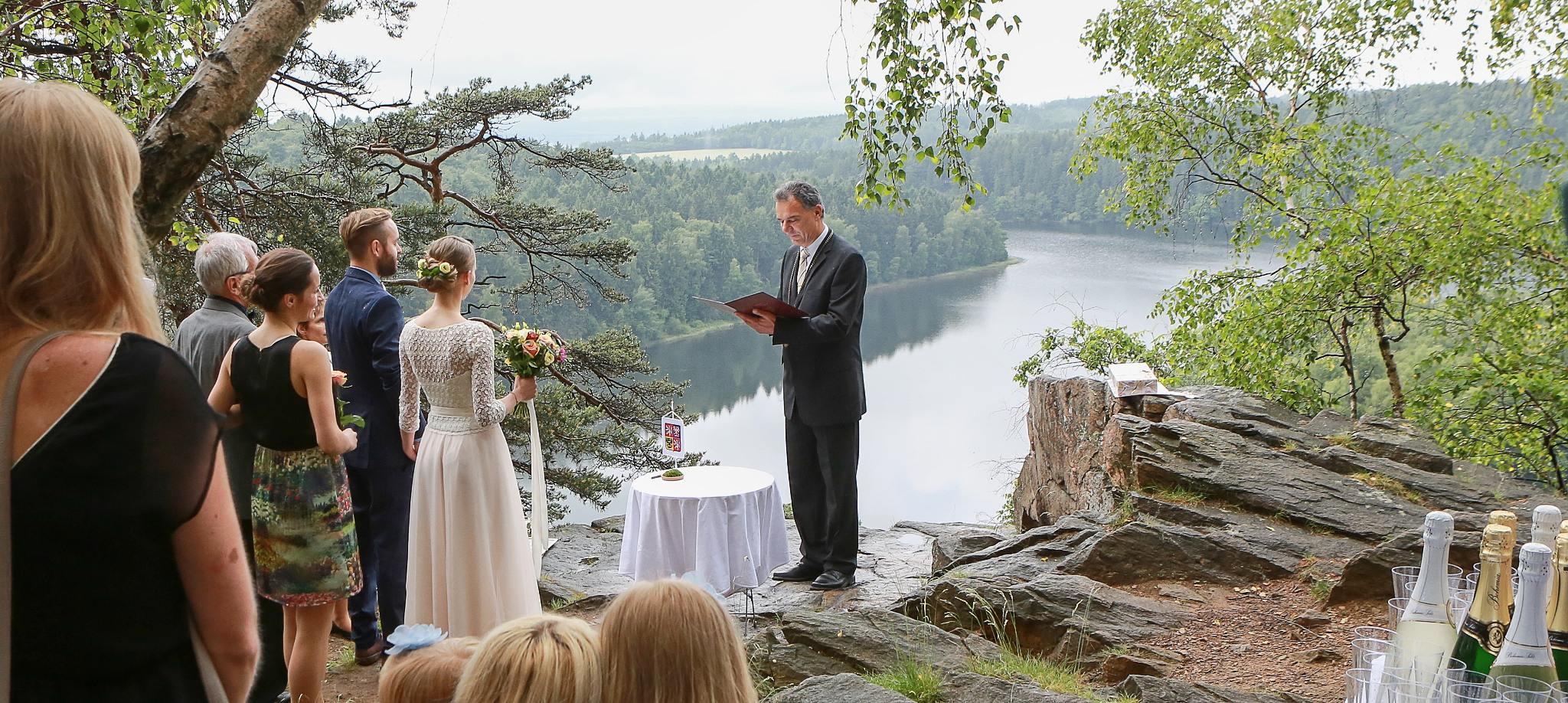 svatba vyhlídka Oheb