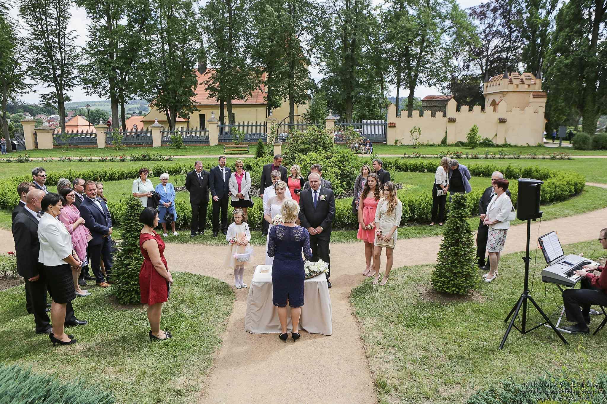 svatba Zámek Zruč nad Sázavou
