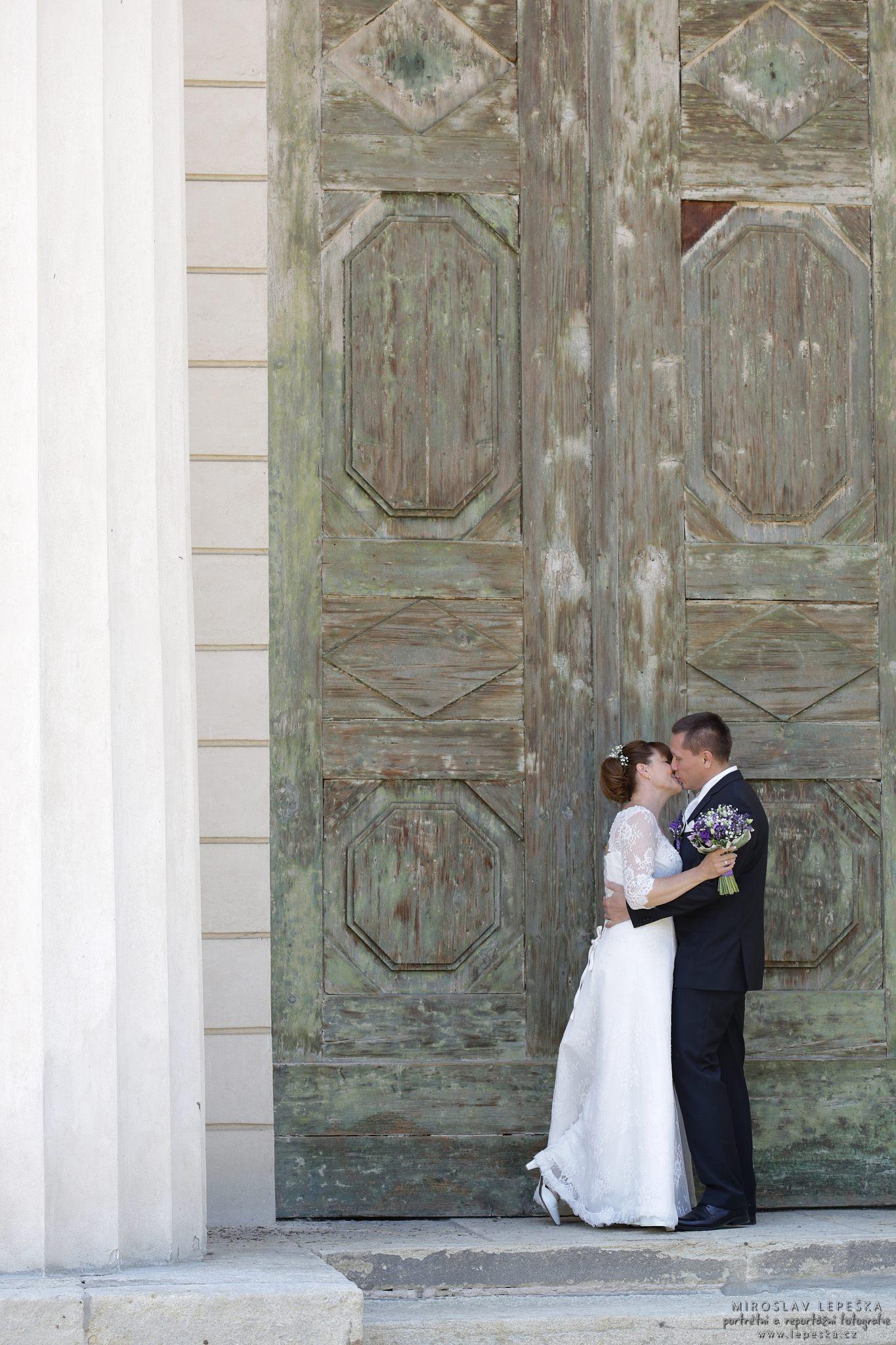 svatební fotograf Zámek Kačina
