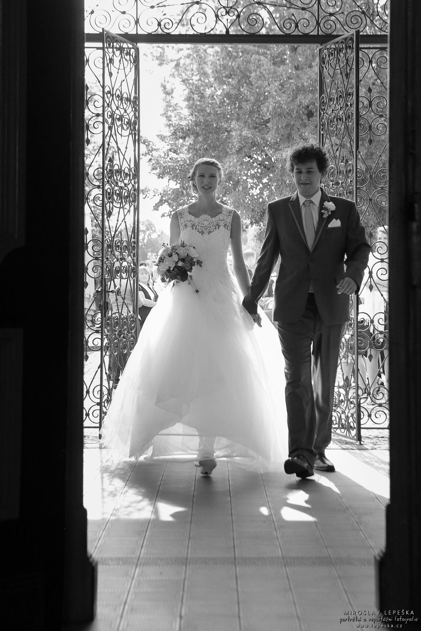 svatební fotografie Čáslav