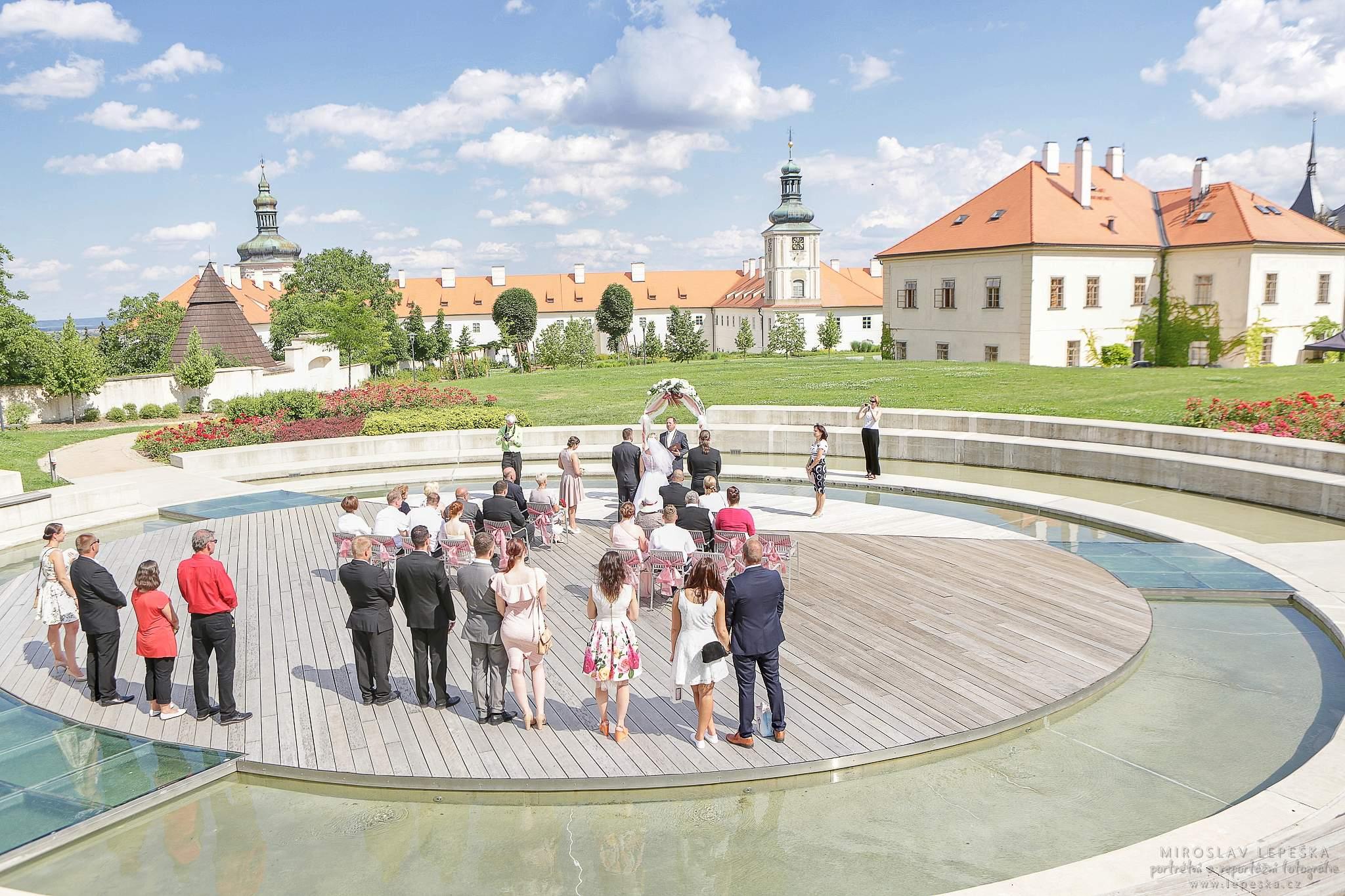 svatební obřad v GASK Kutná Hora