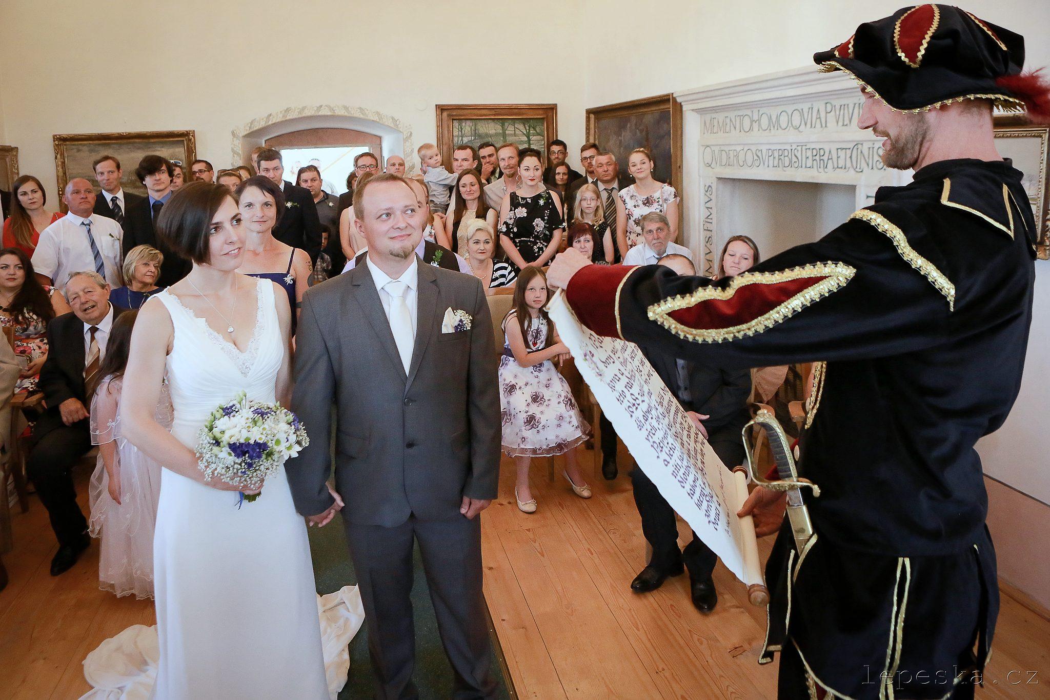svatba Tvrz Golčův Jeníkov