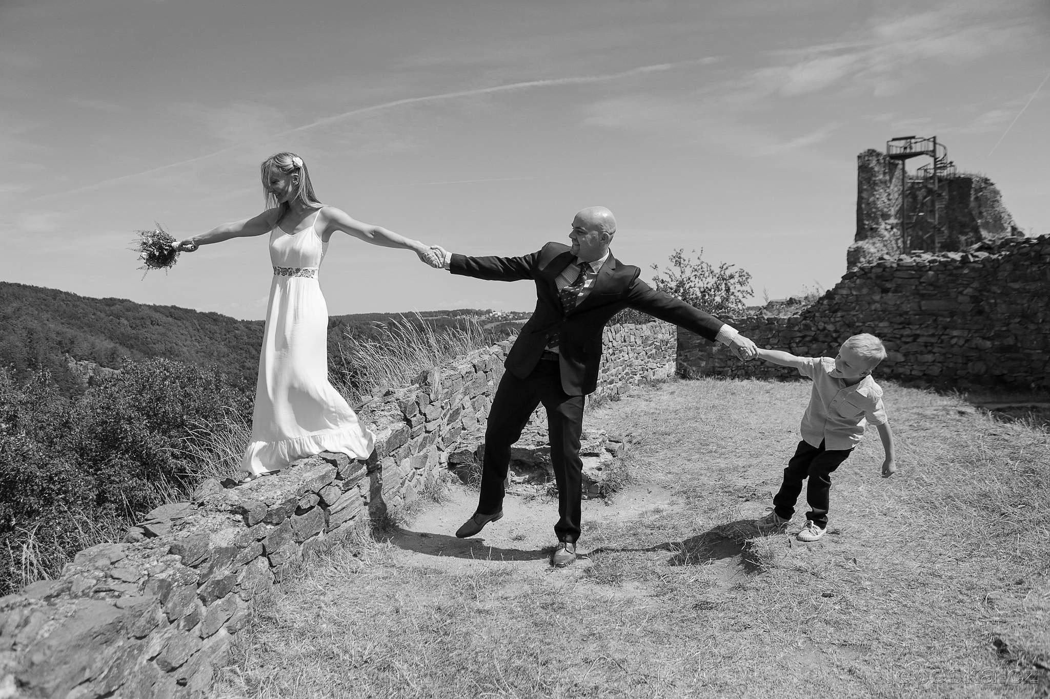 svatba Lichnice